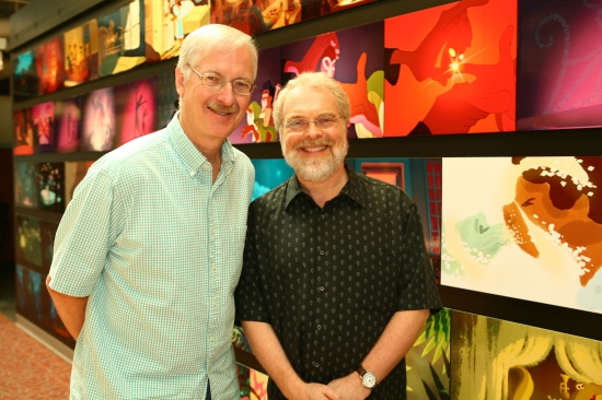 John Musker y Ron Clements. © Disney Enterprises, Inc. All Rights Reserved.