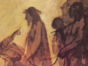particolare Daumier