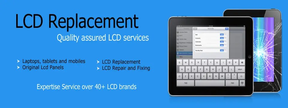 tablet dell, hp, ipad, iphone screen touch glass replacement jaipur