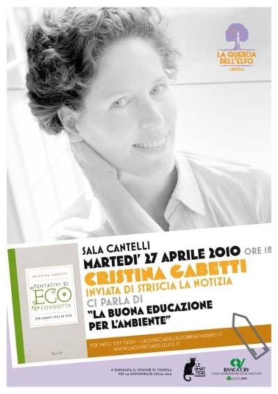 Cristina Gabetti - La Quercia dell'Elfo - poster 2010