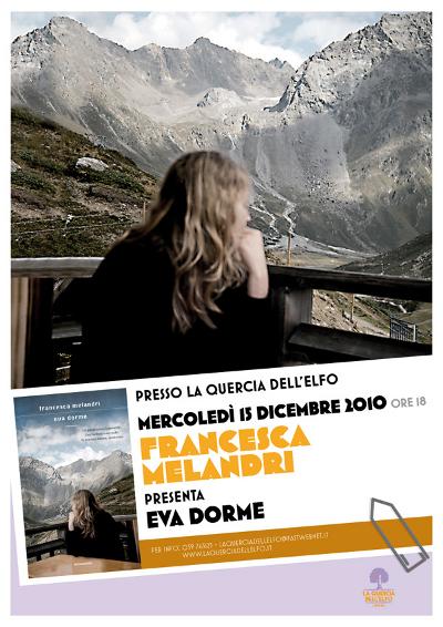Francesca Melandri - La Quercia dell'Elfo - poster 2010