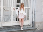 summer-outfit-how-to-wear-pastel-mini-skirt-bell-sleeve-blouse-white-rose-espadrilles-lace-fashion-blogger-dinslaken