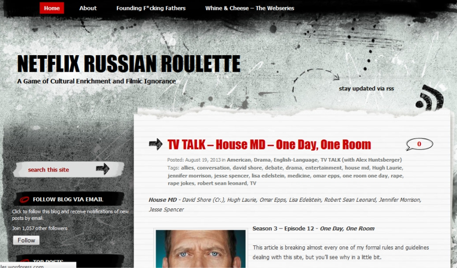 Russian roulette names