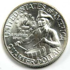 25-Cents---Quarter-Dollar-Washington---Bicentennial