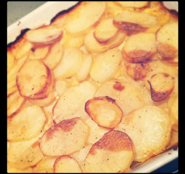 potatoes boulangere