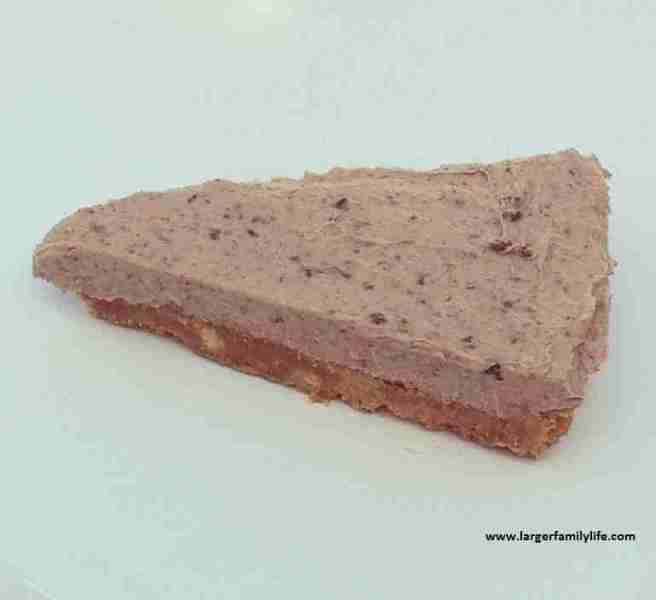super-quick chocolate cheesecake