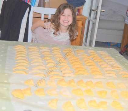 Finally, we're done! It took about two hours to make approximately 108 ravioli!