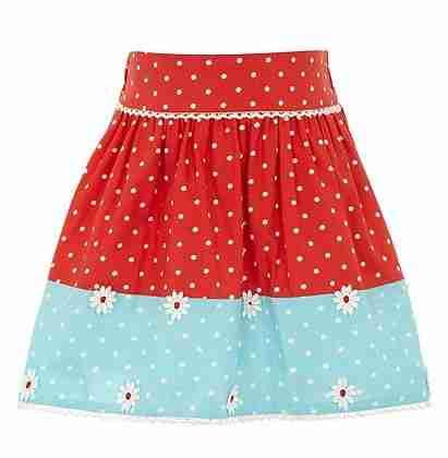 house of fraser uttam daisy skirt