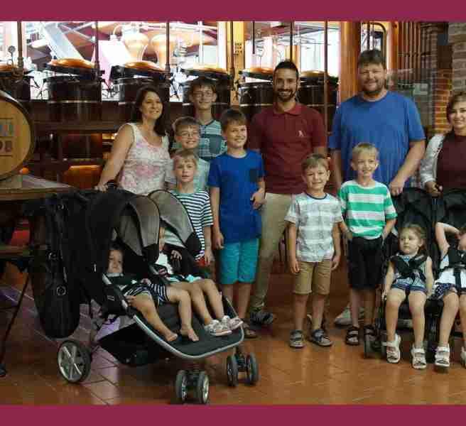 Sullivan family at Poli Grappa Distilleries