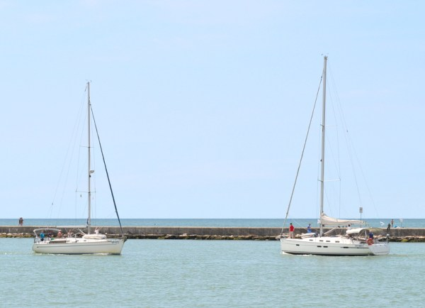 boats at Caorle