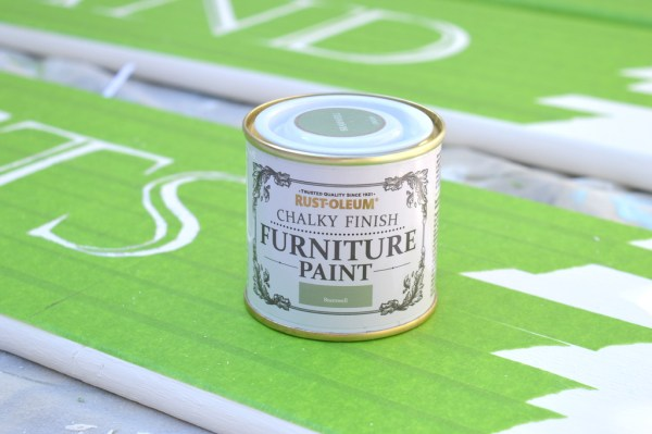 Rustoleum Chalky Furniture Paint in Bramwell