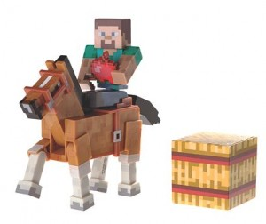 Minecraft Steve and Horse Wave 2 - House of Fraser