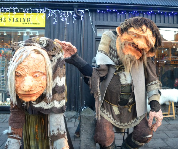 No, its not me and Dad but the evil child-eating troll Gryla and her husband.