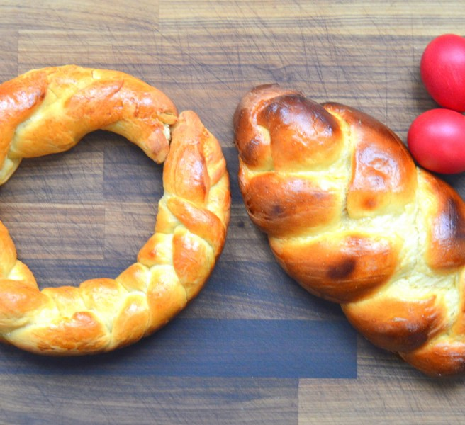 Tsoureki Greek Easter Bread Recipe