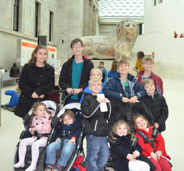 Sullivan large family at British Museum