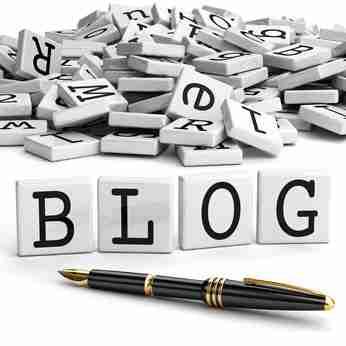 Blog icon concept