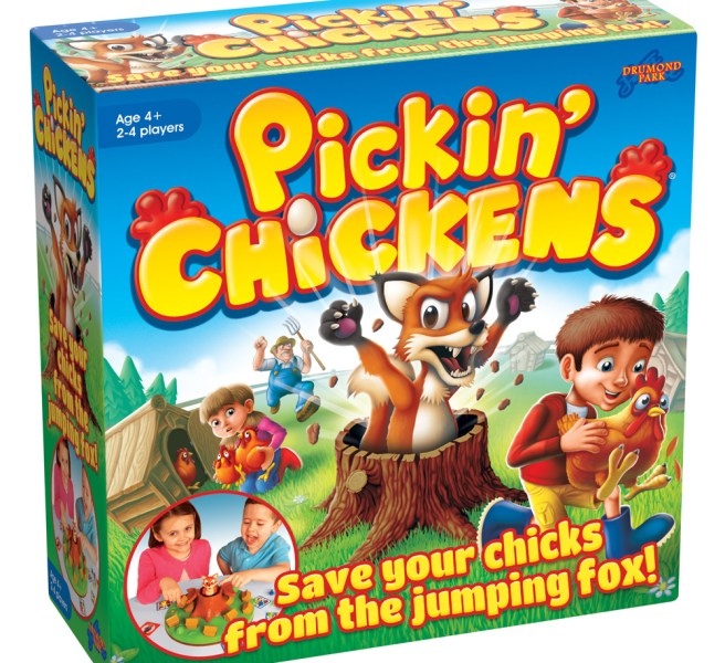 PickinChickens 3D LR