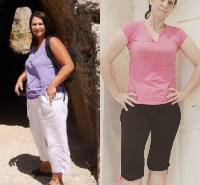 tania rhodes 2015 to jan 2017 60lbs loss