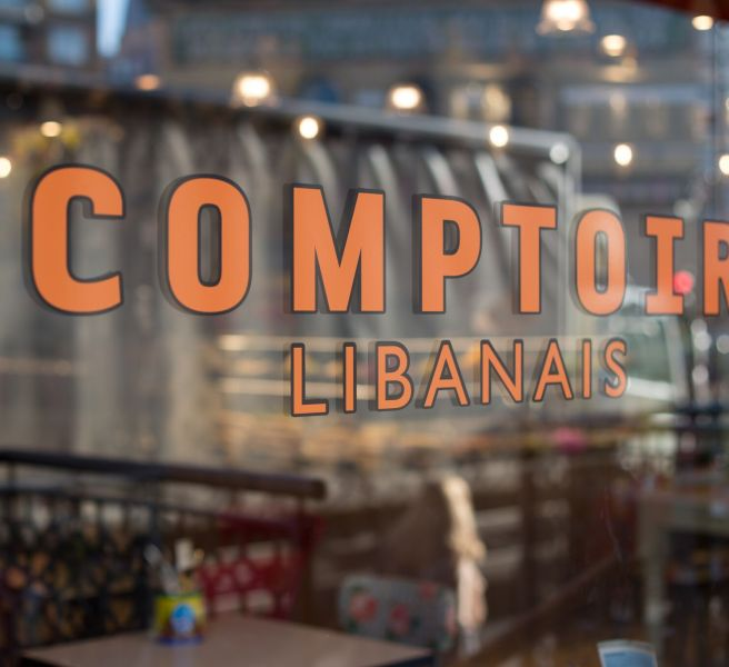 comptoir window