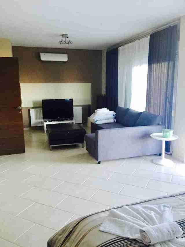 Villa Anna Maria Bedroom 1 living area