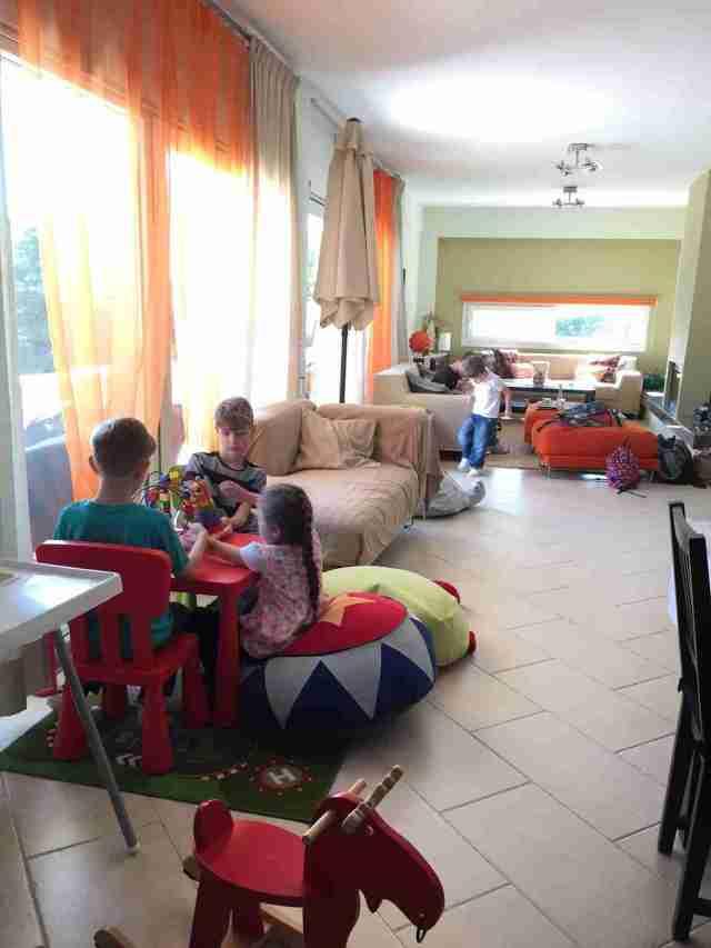 Villa Anna Maria living area
