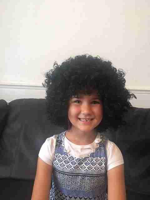 Bel Eurovision Fancy Dress Wig
