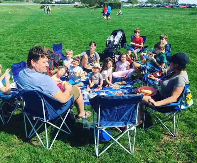 Sullivan large family picnic May 2018