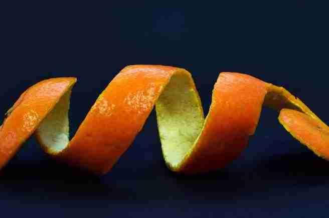 orange peel skin