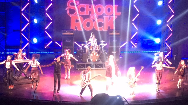 School of Rock Theatre June 2018