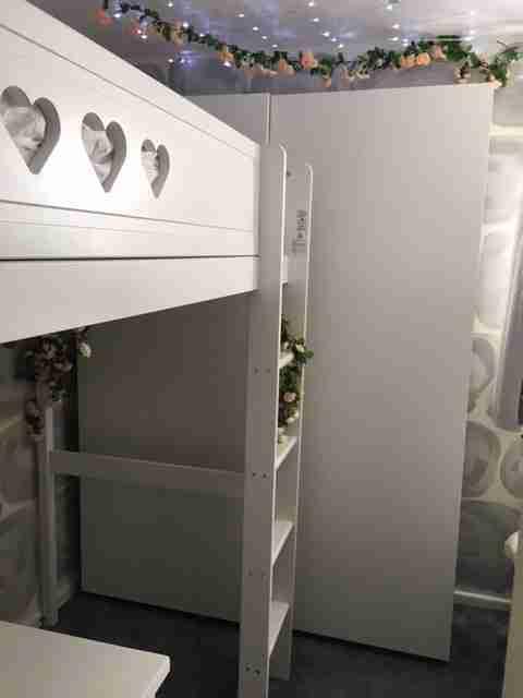 space saving bedroom design