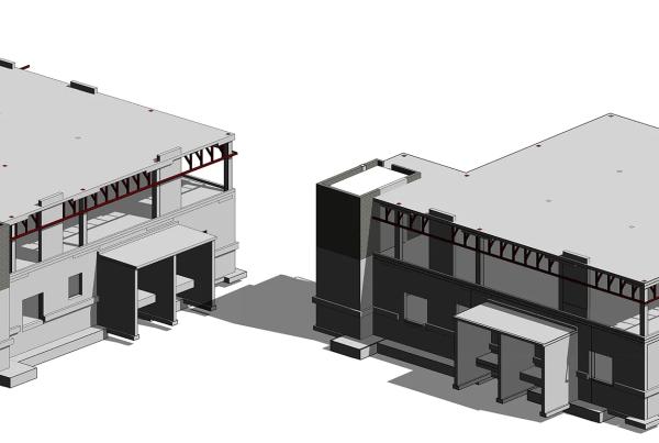 EKH structural 3d model