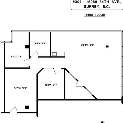 16088 84th Avenue #301 (dimensions)1
