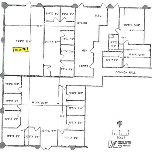 20641 Logan Avenue #107 (dimensions)