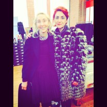 Carla Sozzani and me