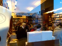book shopping with Karl Lagerfeld at Galingnani bookstore, Paris