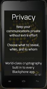 Blackphone promises privacy