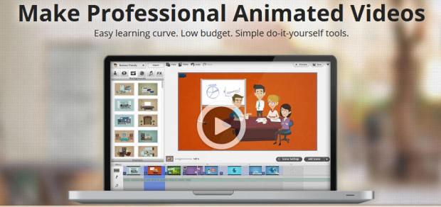 GoAnimate lets people create their own animations
