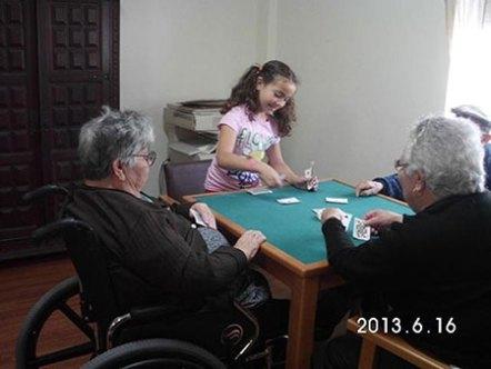 Actividades Intergeracionais - Jogos de mesa