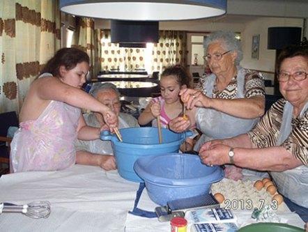 Actividades Intergeracionais - Culinária