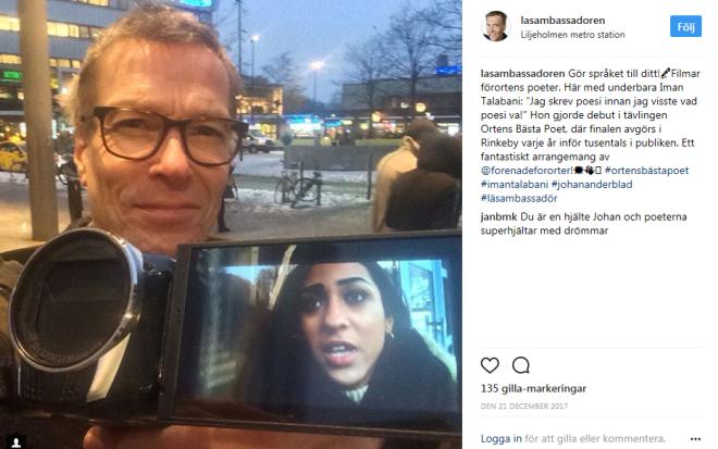 Läsambassadören Instagram