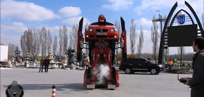 Letrons: El primer Transformer real a partir de un BMW