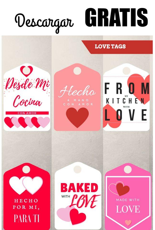 Etiquetas de San Valentin
