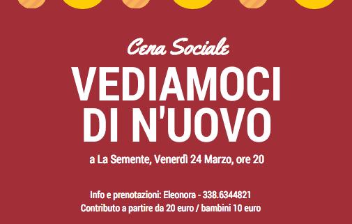 cena sociale marzo