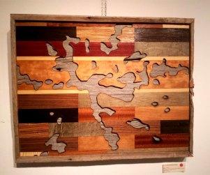Laser cut Ontario lakes wood art prints by Dan Thompson-Walker - Print #4