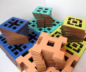 Laser Cut wood promotional coasters
