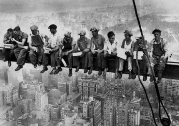 Lunch-atop-RCA-Building-Construction-Vintage-Photos-NYC