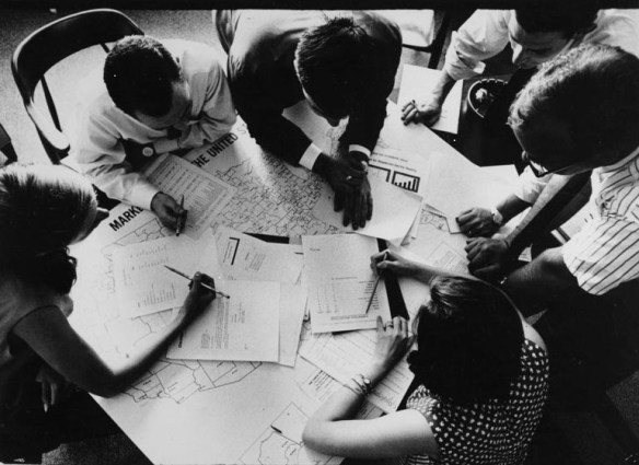 group with papers