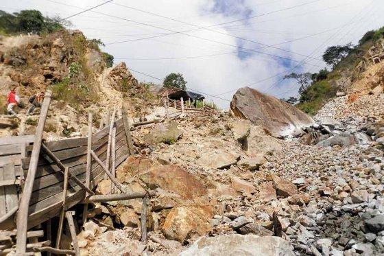 Minería ilegal en Colombia. Foto El Espectador