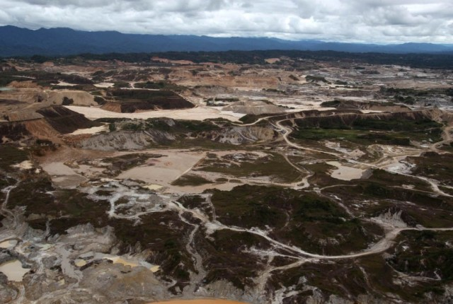 Minería ilegal Madre de Dios. Foto: Andina