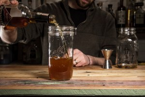 How to make Bacon flavored bourbon-03
